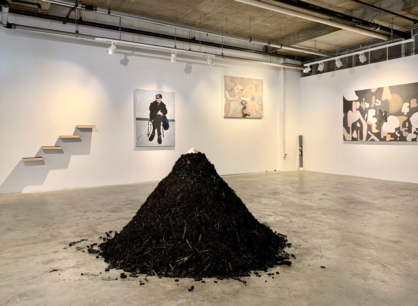 Lam Wong: Self-Portrait as Volcano
